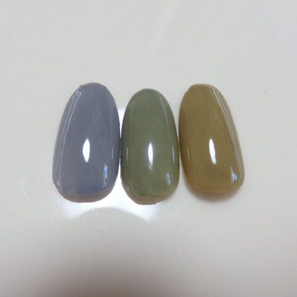 ジェルネイル色の作り方 グレージュとモーブグレーを3原色で作る!