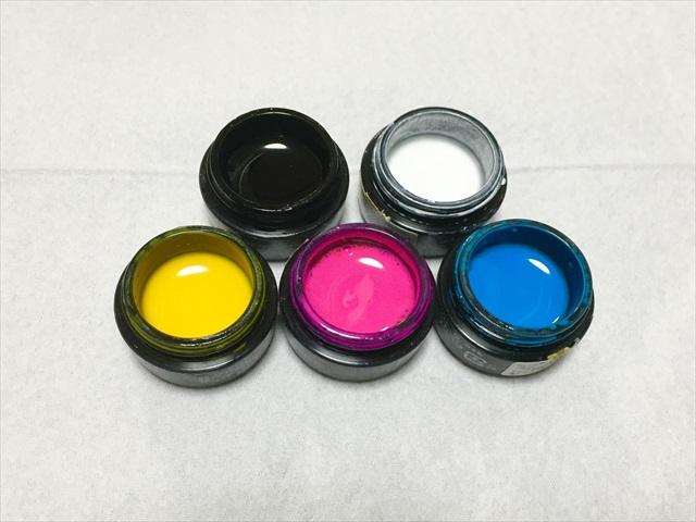 ジェルネイル 三原色 作れる色