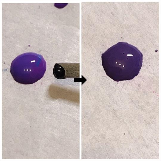 くすみパープル 色 作り方